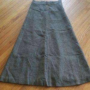 1950's vintage wool skirt
